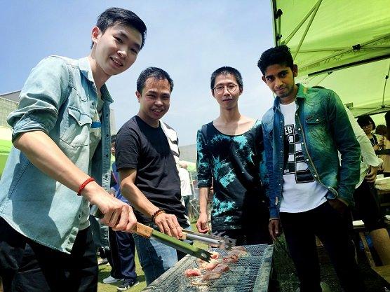 BBQ活動