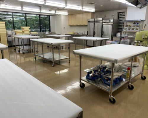 麵包製作實習室