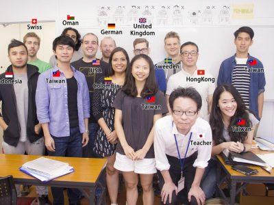多國籍同學